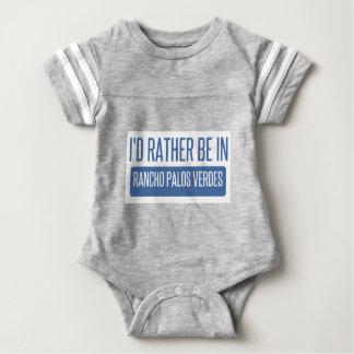 Estaría bastante en Rancho Palos Verdes Body Para Bebé