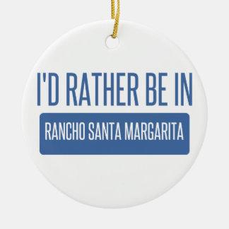 Estaría bastante en Rancho Santa Margarita Adorno De Cerámica