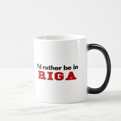 Estaría bastante en Riga Tazas De Café
