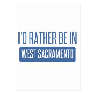 Estaría bastante en Sacramento del oeste Postal