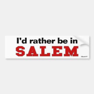 Estaría bastante en Salem Pegatina Para Coche