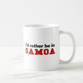 Estaría bastante en Samoa Tazas De Café