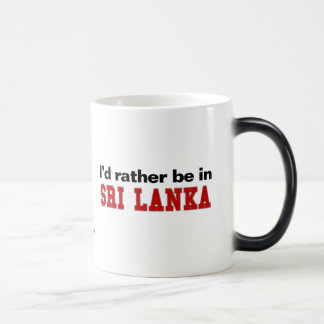 Estaría bastante en Sri Lanka Taza Mágica