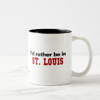 Estaría bastante en St. Louis Taza Dos Tonos