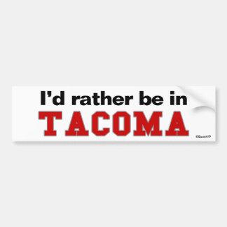 Estaría bastante en Tacoma Pegatina Para Coche