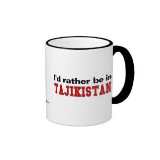 Estaría bastante en Tayikistán Taza A Dos Colores