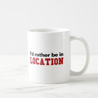 Estaría bastante en… tazas de café