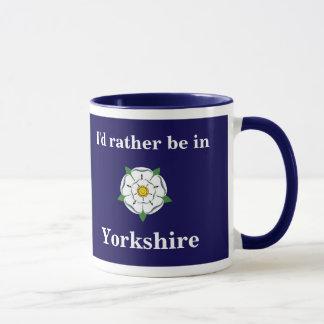 """""""Estaría bastante en taza adaptable de Yorkshire"""""""