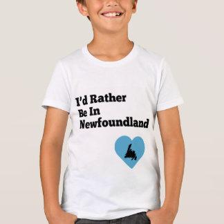 Estaría bastante en Terranova (el corazón azul) Camiseta