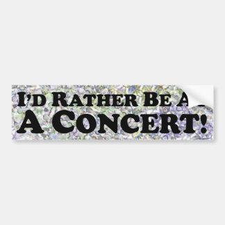 Estaría bastante en un concierto - pegatina para e pegatina para coche