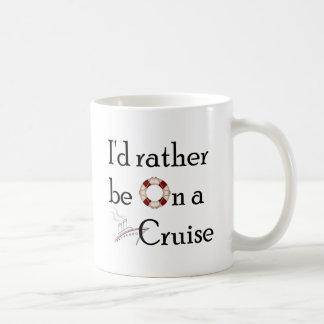 Estaría bastante en una travesía taza de café