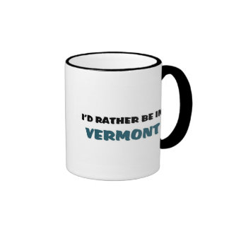 Estaría bastante en Vermont Taza De Dos Colores