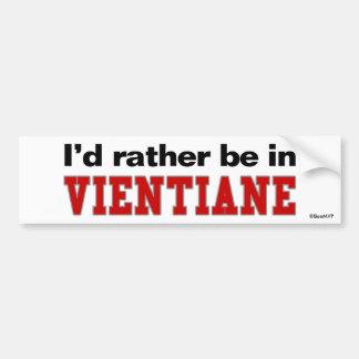 Estaría bastante en Vientián Pegatina Para Coche