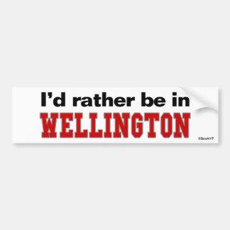 Estaría bastante en Wellington Pegatina Para Coche