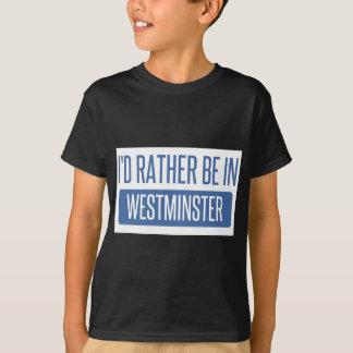 Estaría bastante en Westminster CA Camiseta