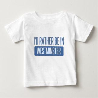 Estaría bastante en Westminster CA Camiseta De Bebé