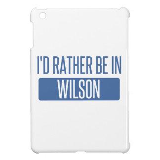 Estaría bastante en Wilson
