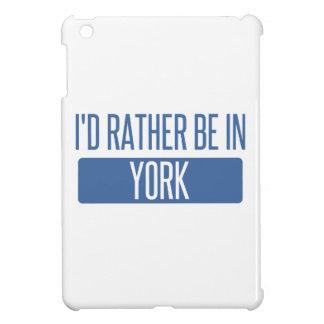 Estaría bastante en York