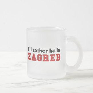 Estaría bastante en Zagreb Taza Cristal Mate
