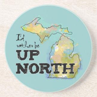 Estaría bastante encima de Michigan del norte Posavasos Para Bebidas