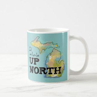 Estaría bastante encima de Michigan del norte Taza De Café