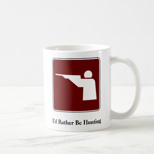 Estaría cazando bastante la taza de café