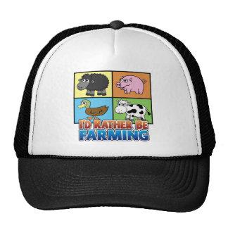 ¡Estaría cultivando bastante! (granjero virtual) Gorra