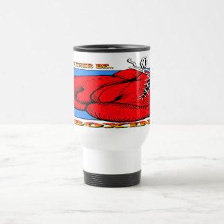 Estaría encajonando bastante tazas de café