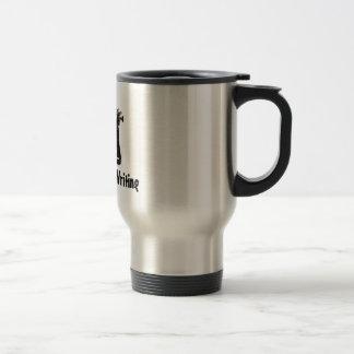 Estaría escribiendo bastante taza de café