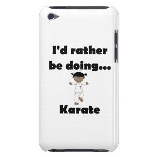 Estaría haciendo bastante karate iPod Case-Mate protectores