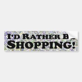 Estaría haciendo compras bastante - pegatina para  pegatina para coche