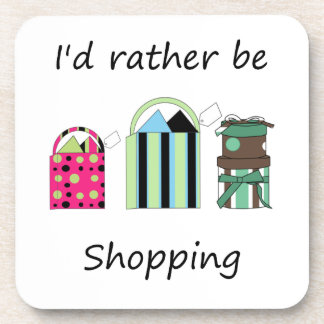 Estaría haciendo compras bastante posavaso