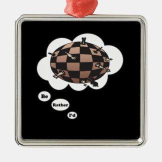 Estaría jugando bastante al ajedrez 7 ornatos