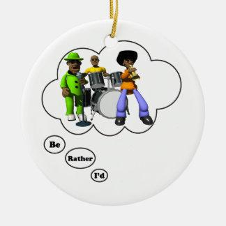 estaría jugando bastante el jazz 2 ornamentos de navidad