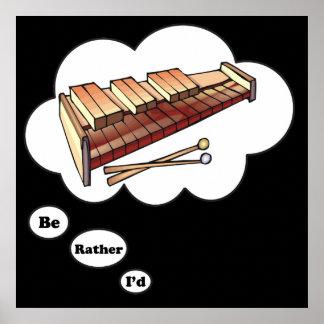 estaría jugando bastante el Marimba 2 Póster