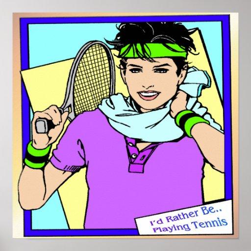 Estaría jugando bastante el poster del tenis