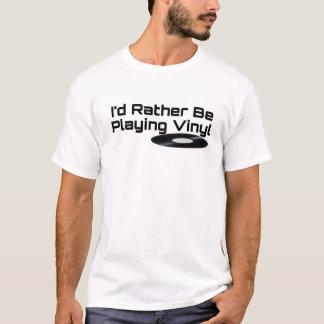 Estaría jugando bastante la camiseta del vinilo