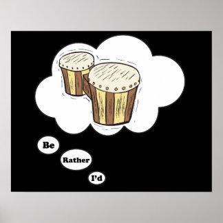 estaría jugando bastante los bongos 2 poster