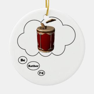estaría jugando bastante los bongos 6 ornamentos de navidad