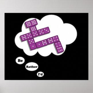Estaría jugando bastante los dominós 5 impresiones