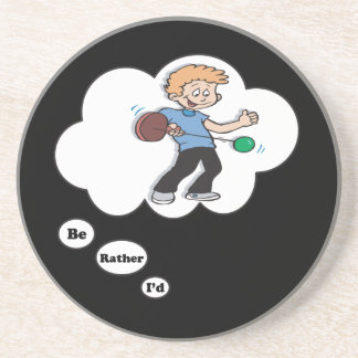 Estaría jugando bastante Paddleball 2 Posavasos Manualidades
