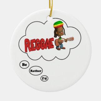 estaría jugando bastante reggae adornos