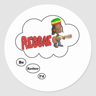 estaría jugando bastante reggae etiqueta redonda