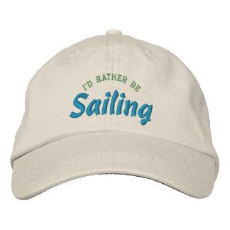 Estaría navegando bastante el gorra del bordado gorras de beisbol bordadas