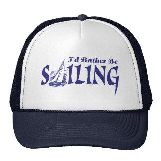 Estaría navegando bastante gorro