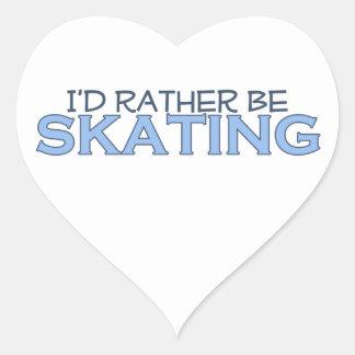 Estaría patinando bastante colcomanias de corazon personalizadas