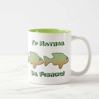 Estaría pescando bastante, 4 pesco, asalto tazas
