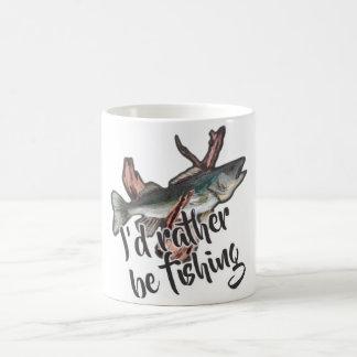 """""""estaría pescando bastante"""" la taza"""