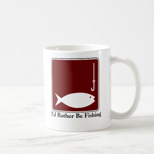 Estaría pescando bastante la taza de café