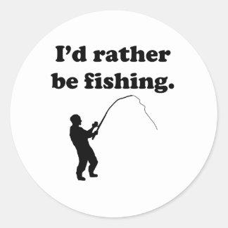 Estaría pescando bastante etiquetas redondas
